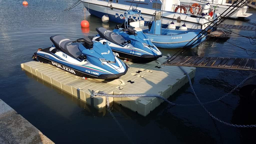 Piattaforma Galleggiante per Moto d'Acqua2